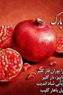 تبریک شب یلدا ۹۹ ❤️ اس ام اس خنده دار و پیامک سرکاری شب یلدا 99