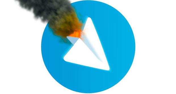 علت قطعی تلگرام امروز پنجشنبه 14 بهمن 95