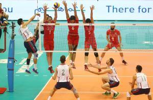 نتیجه و مشاهده انلاین والیبال ایران امریکا 31 خرداد 94