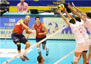 نتیجه بازی والیبال ایران و آمریکا