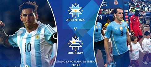 نتیجه بازی آرژانتین و اروگوئه 27 خرداد 1394