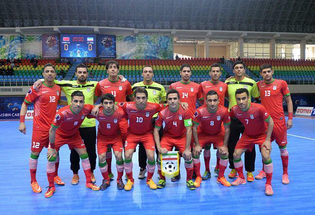 نتیجه بازی فوتسال ایران و پاراگوئه جام جهانی 2016 کلمبیا + دانلود گلها