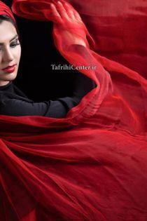 بیوگرافی و عکسهای روژین رحیمی طهرانی (بازیگر نقش فرشته سریال خانه امن) و همسرش