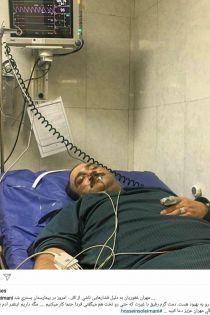 وضعیت جسمانی و حال مهران غفوریان + مهران غفوریان راهی بیمارستان شد