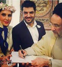 سام درخشانی ازدواج کرد + عکس