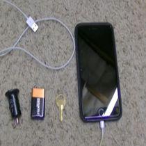 دانلود کلیپ آموزش شارژ گوشی با باتری 9V در مواقع ضروری