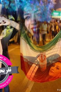 سری دوم تصاویر شادی دختران ایرانی در خیابان بعد از توافق هسته ای 23 تیر 94