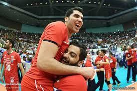 حاشیه های بازی والیبال ایران و امریکا 29 خرداد 94 + عکس