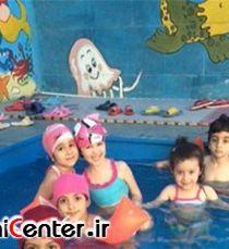 برگزاری استخر مختلط در مهدکودکی در تهران + تصاویر