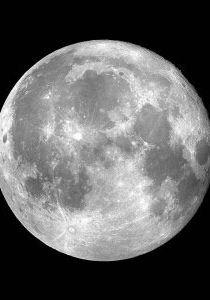 ماجرای عکس یا حسین روی ماه در شب عاشورا + عکس