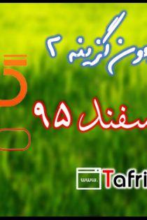 دانلود سوالات و پاسخ تشریحی آزمون 20 اسفند 95 گزینه دو 2