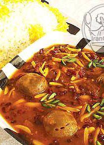 خورش خلال خوراک معروف کدام استان در ایران است ؟