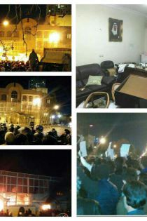 آتش زدن سفارت عربستان در تهران + عکس و فیلم