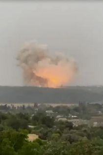 اولین فیلم از حجم انفجار در صنایع موشکی اسرائیل