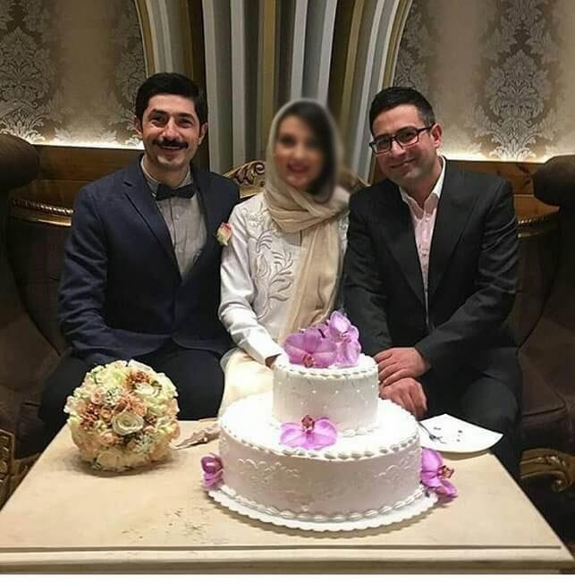 ازدواج حدیث میرامینی   عکسهای مراسم عروسی حدیث میرامینی با مجتبی رجبی