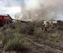 علت سقوط هواپیمای بوئینگ 707 در کرج + فیلم و عکس